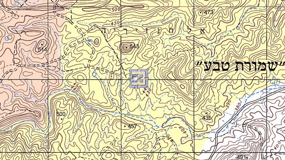 Location of Ezekiel's Temple